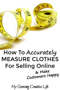How To Accurately Measure Clothes For Selling Online - My