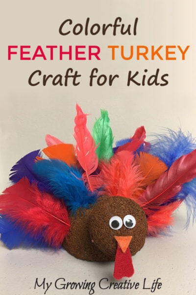 Colorful Feather Turkeys to Make With Your Kids