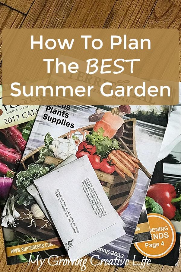How To Plan The Best Summer Garden