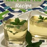 Refreshing Iced Mint Tea