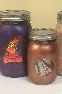 Spooky Silhouette Halloween Mason Jar Craft