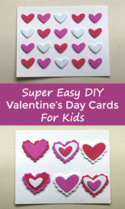 Super Easy Diy Valentine S Day Cards For Kids My Growing Creative Life
